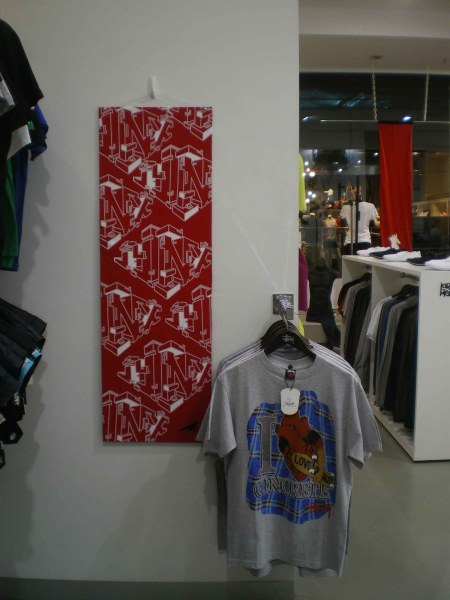 Wall mounted artwork- Screenprint on fabric